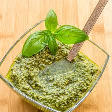 Spinach, Lemon, and Basil Pesto