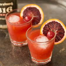 Blood Orange-Ginger Fizz