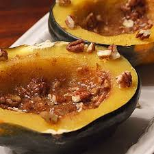 Roasted Acorn Squash with Nutmeg, Butter, & Honey