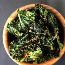 "Crispy ""Cheesy"" Kale Chips"